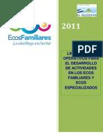 Lineamientos Operativos Para El Funcionamiento de Los ECOS Familiares y Especializados