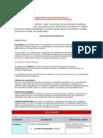 Características de portafolio