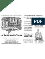 Flyer Reforma Es Tema Web