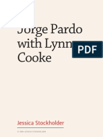 Jorge Pardo with Lynne Cooke