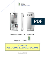 Anycool T55 Manuale Italiano
