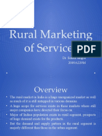 Rural Marketing of Services
