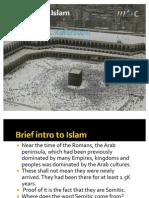 Brief Intro to Islam