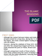 The First Islamic Invasions