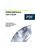 MAXtreme Users Guide v7.00.03