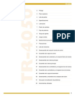Transmisión manual Tremec 40501