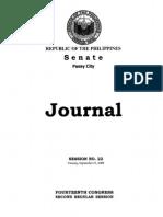 Journal No. 22 9.29.08