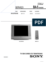 Service Manual - Sony TV - BR Chassis BA-5