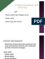 Tinjauan Pasar Keuangan Dan Investasi