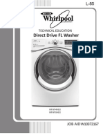 Whirlpool WFW94 & 95HEX Direct Drive FL(SM)