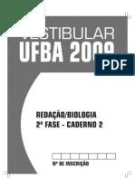 2009 Prova Biologia - Caderno 1 Fase 2