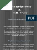 Posicionamiento Web vs. Pago Por Clic