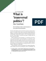 Yuval Davis Transversals