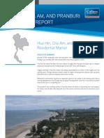 Hua Hin Cha Am Pranburi Residential Report May 2011 | Colliers International Thailand