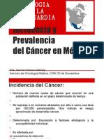 cia y Prevalencia Del CA en Mexico