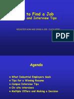 1105 Resume Tips