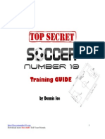 Soccer Number 10 Training Guide (69 pages)