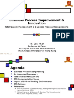Business Process Improvement & Innovation