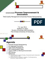 Business Process Improvement & Innovation