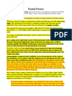Postal Powers International Jurisdiction Send After Docs Are Rejected & Before.