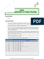 HSPA - Network Optimization & Trouble Shooting v1.2