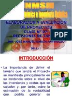 2011 - I -  PROYECTOS - CLASE Nº 07