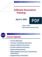 NASA Software Assurance Training