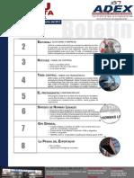 Boletín  quincenal Perú exporta Nº 1