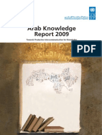 UNDP- RAM Foundation Arab Knowledge Development Report 2009