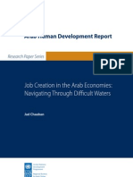 Jad Chaaban, Job Creation in the Arab Economies