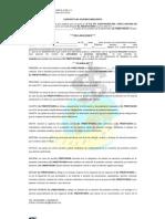 Contrato de Acuerdo Mercantil