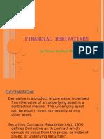 Financial Derivatives - Vishnu