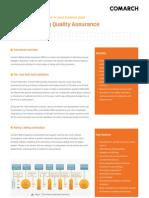 Comarch Billing Quality Assurance - Leaflet