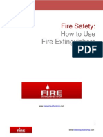 Fire Safety and How to Use Fire Extinguishers