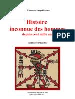 Aventure Mystérieuse Robert Charroux Histoire Inconnue des Hommes Copie