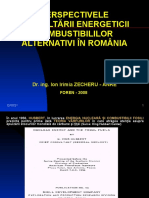 Perspectivele Dezvoltarii Energeticii Combustibililor Alternativi in Romania