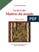 Aventure Mystérieuse Robert Charroux Le livre des Maitres du Monde