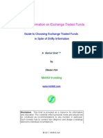 Cruddy Information on Exchange Traded Funds
