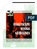Streets Cape Design Guidelines