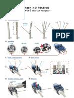 Neutrik NE8FDY-C6 Assembly Instructions