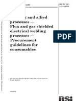 BS en ISO 14344-2005 Welding and Allied Processes. Flux and Gas Shielded Electrical Welding Processe