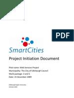 Smart Cities Edinburgh WP3