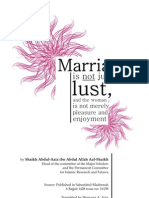 On Marriage by Grand Mufti