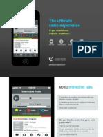 Mobile Interactive Radio Concept