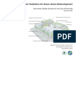 Storm Water Guidelines for Green Dense Redevelopment EPA