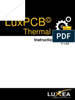 LuxPCB Thermal User Guide