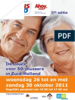 Affiche 55 Plus Expo Zuid-Holland 2011