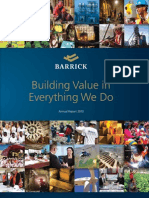 Barrick Annual Report 2010
