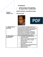 My Biodata 2011