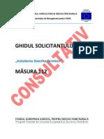 5ck45 GHIDUL SOLICITANTULUI Pentru Masura 112 - Varianta Consultativa Mai 2011
